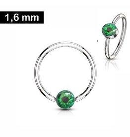 1,6mm Brustpiercing Ring