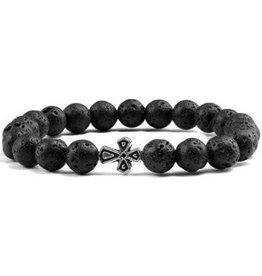 Perlen Armband Lava