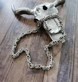 Königskette aus Edelstahl - 10 mm Stärke