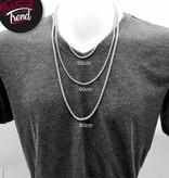 Halskette aus Edelstahl mit Patrone