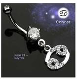 Bauchnabelpiercing Sternzeichen Krebs