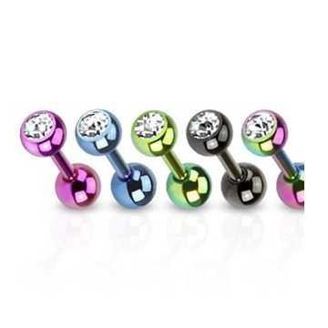 Helix Stab mit Kugeln - 5 Farben