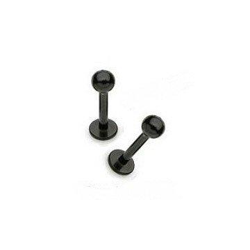 1,2 mm Helix Piercing schwarz