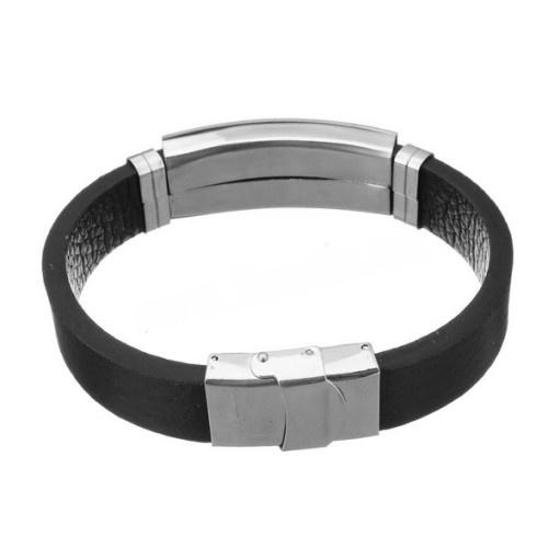 Herren Armband mit Edelstahl