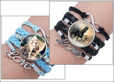 Armbänder für Tierfreunde