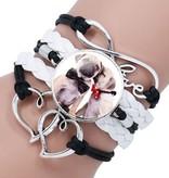 Armband Hund, Herz & Unendlichkeit