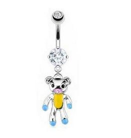 Bauchpiercing Teddybär