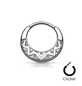 Septum Clicker Tribal