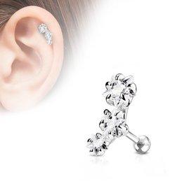 Helix Piercing 3 Sterne