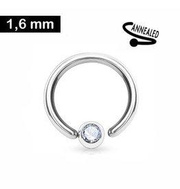 Piercing Ring zum aufbiegen