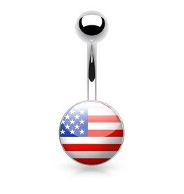 Bauchnabelpiercing  USA