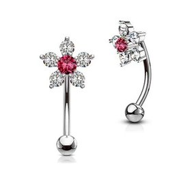 Piercing Barbell Blume