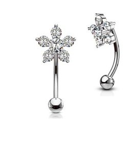 Barbell Piercing Blume