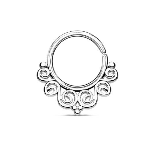 Septum Ring Ornament - 3 Farben wählbar