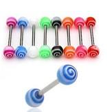 Zungenpiercing Torando - 8 Farben