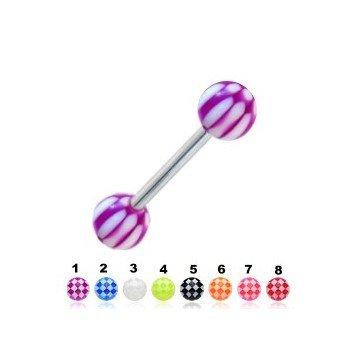 Günstige Zungenpiercing - 8 Farben