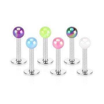 Perlen Labret - 6 Farben