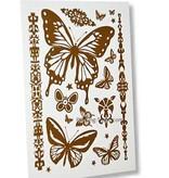 Tattoo Fake Schmetterling