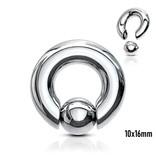 10 mm Piercing Ring Springring