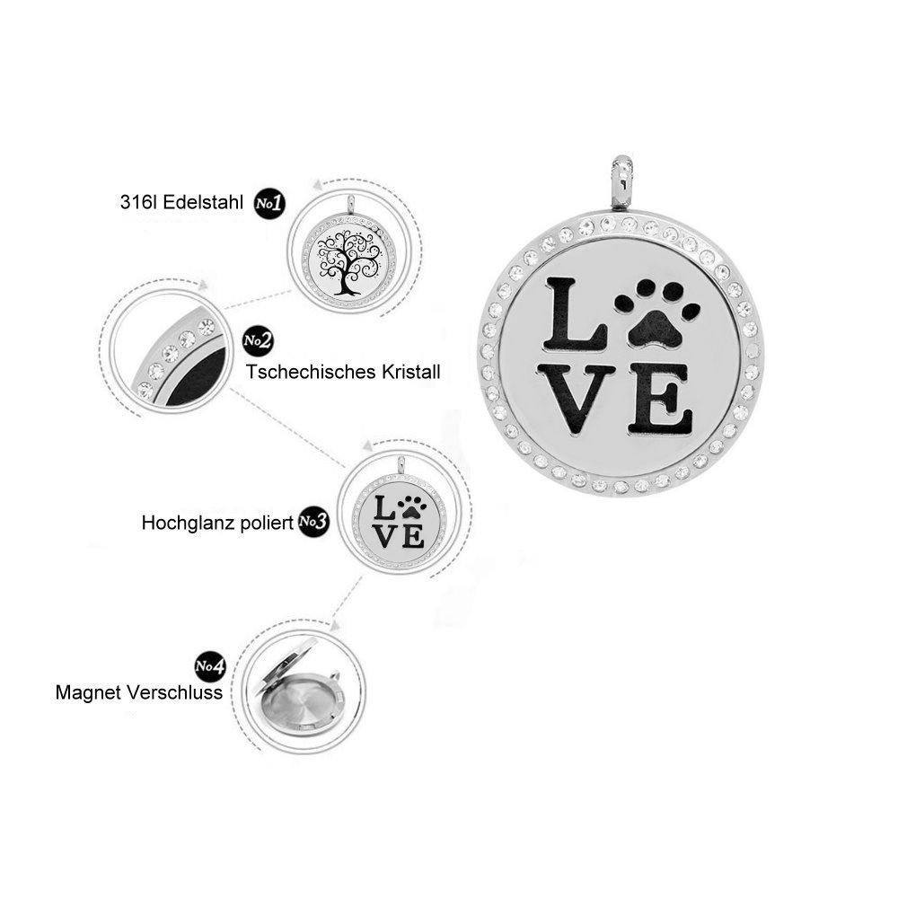 Parfumkette Love Hundepfote