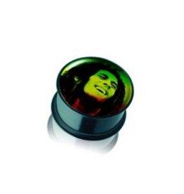 Acryl Plug Bob Marley