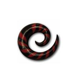 Dehnungsspirale rot-schwarz