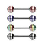 Zungenpiercing - Barbell