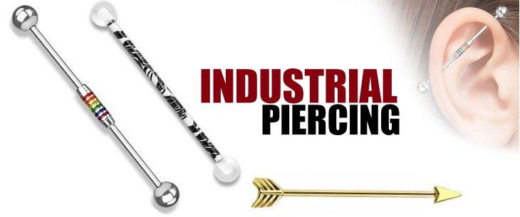 Das Industrial-Piercing – Ein anspruchsvolles Modeaccessoire