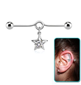 Industrialpiercing 38 mm