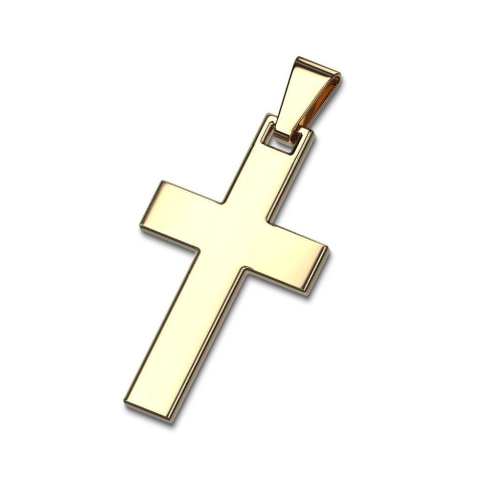 Kleiner Kreuzanhänger für Damen und Herren