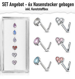 Nasenstecker Set Angebot