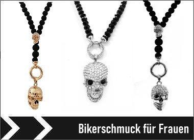 Bikerschmuck für Frauen