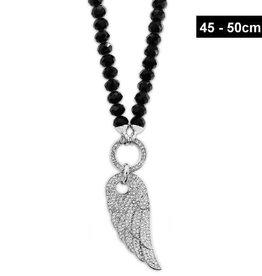 Damen Halskette Flügel