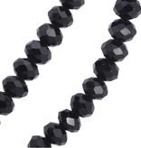 45cm Damen Halskette mit Strassanhänger