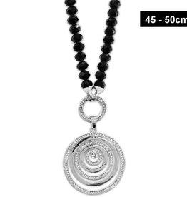 Damen Halskette mit Zirkoniastein