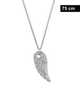 Lange Damen Halskette Flügel