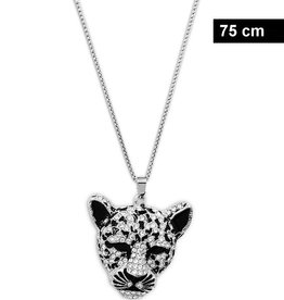 Damenhalskette Leopard