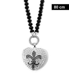 Damen Halskette Lilie