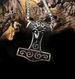 60cm Edelstahl Halskette mit Thorhammer