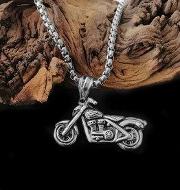 Motorrad Anhänger mit Kette