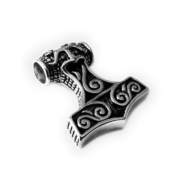 Halskette Thors Hammer - Mjölnir aus Edelstahl