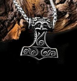 Halskette Thors Hammer - Mjölnir