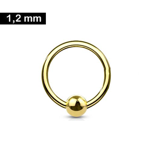 Helix Piercing Schmuck gold