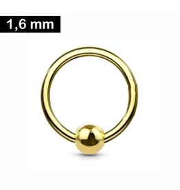 BCR-Ring gold 1,6 mm