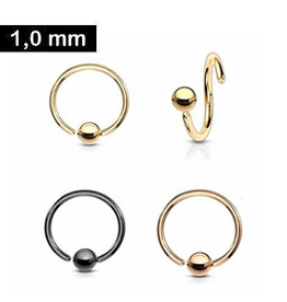 1mm Piercing Ring