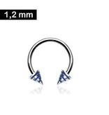 Circular Barbell 1,2 mm - blau