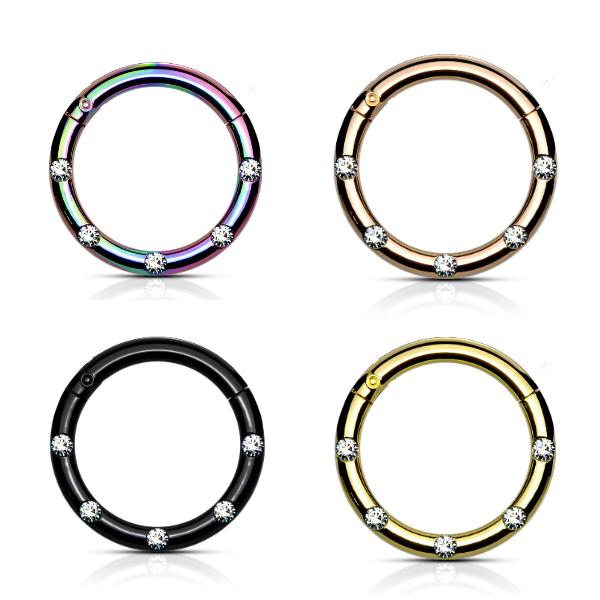 Piercing Clicker in 4 Farben lieferbar