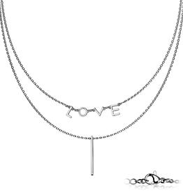 2-reihige Halskette