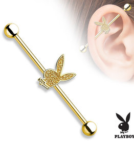 Industrial Piercing Playboy - 1,6x38 mm