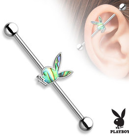 38mm Industrial Piercing Playboy